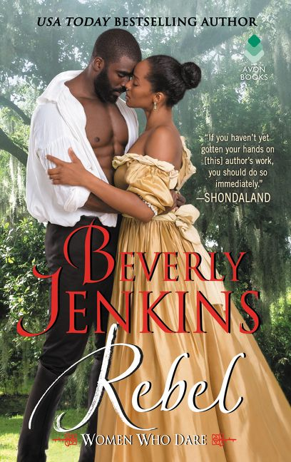 Rebel by Beverly Jenkins book cover