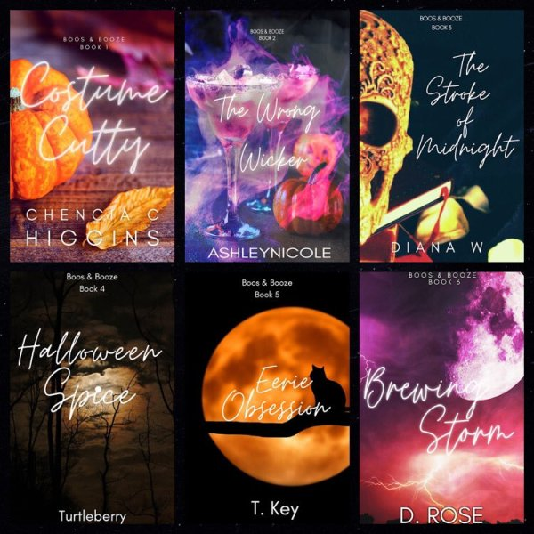 Book Covers for Boos & Booze Series